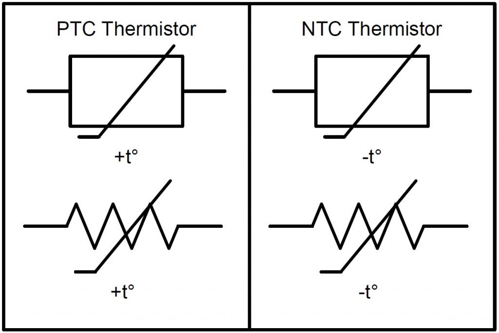 Термодатчики на схемах