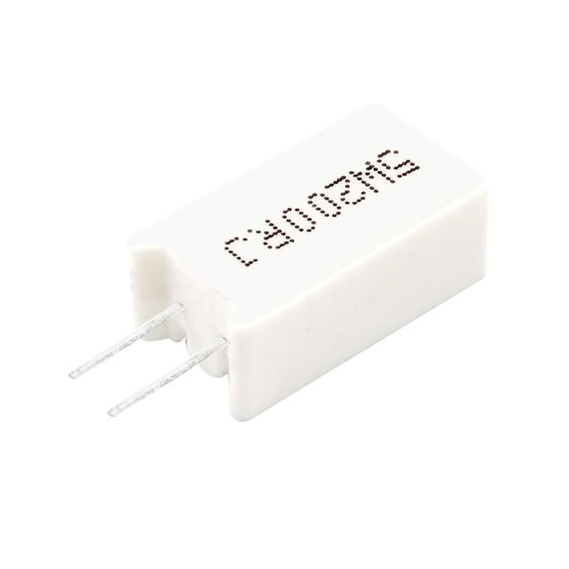Радиальный выводной резистор фото